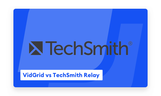 Replace Your TechSmith Relay Lecture Capture