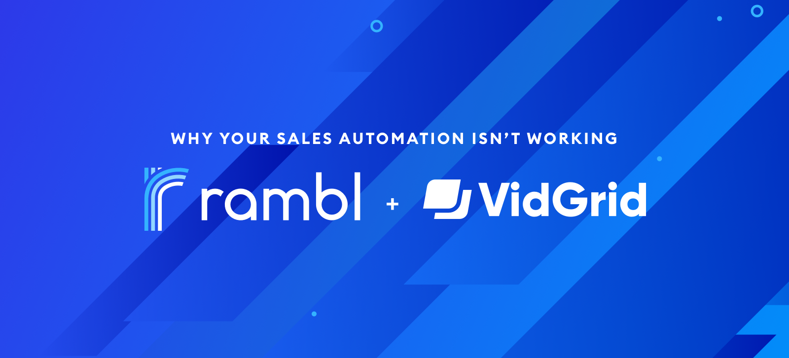 Why Your Sales Automation Isn't Working