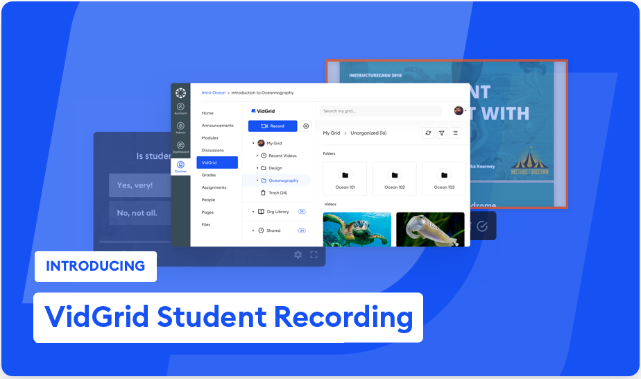 Student Recording & Video Assignments